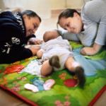 Catia e Silvia vivono insieme da nove anni. Hanno un figlio di quattro anni, concepito grazie alla fecondazione eterologa nei Paesi Bassi.