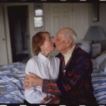Goldin_My-parents-kissing