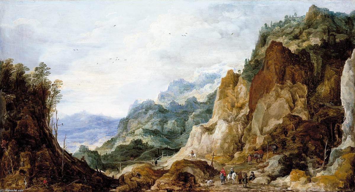 Joos-De-Momper-Mountainous-Landscape