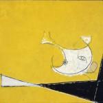 1B Licini, Amalassunta su fondo giallo, 1954_low