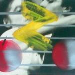 Enzo Minarelli, Senza titolo, tecnica mista, 1982.