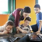 2. Laboratorio ceramica scuola elementare