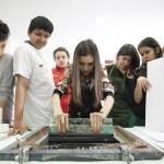 6. Laboratorio serigrafia by Irene Rinaldi scuola media