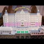 Il Grand Hotel Budapest fatto di Lego