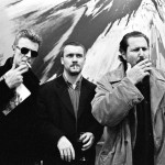 Roxanne Lowit - David Bowie Damien Hirst e Julian Schnabel NY 1996 - 40x50cm - ed. 25