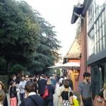 Viale degli artisti a Villa Massimo