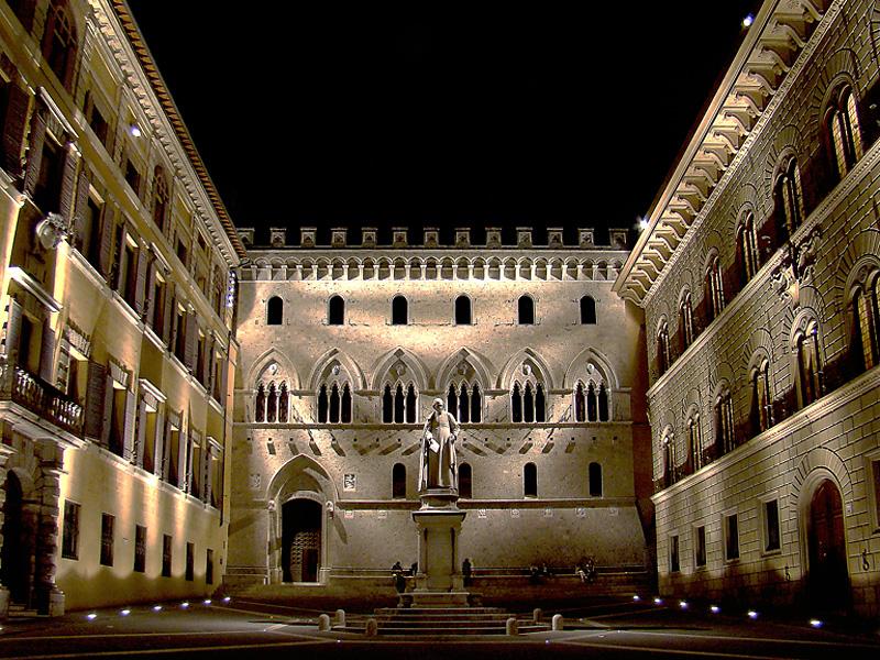 Siena, Palazzo Salimbeni