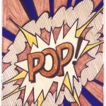 11) Roy Lichtenstein, Study for Pop!, 1966, © Estate of Roy Lichtenstein  SIAE 2014