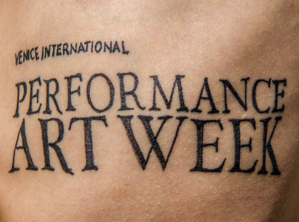 performance art week