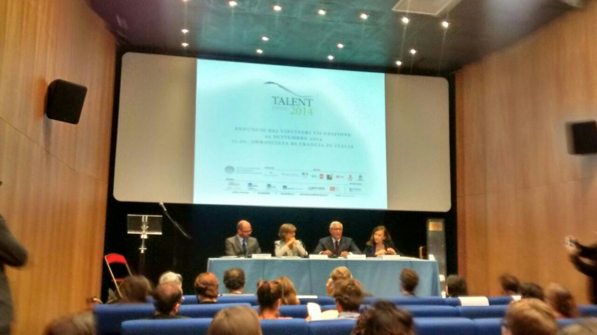 Conferenza stampa Talent Prize 2014