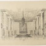 Enrico Del Debbio, Progetto del Salone degli Ambasciatori, 1958-59, MAXXI, Archivio Enrico Del Debbio - Foto di Giorgio Benni