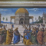 Perugino, Consegna delle chiavi - prima. Foto Boutique Creativa