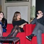 Da sinistra Isabella Falautano (Axa in Italia), Manuela Ronchi (Action agency) e Alfonso Giancotti (Casa dell'architettura). Foto di Adriana Abbrescia