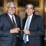 Guido Talarico e Carlo Taurelli Salimbeni (Product manager di Inside Art). Foto di Adriana Abbrescia