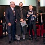 La premiazione di Tosatti. Foto Adriana Abbrescia