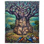 Sudafrica. Mmakgabo Mapula Helen Sebidi, L'albero dell'essere - The Tree of Being