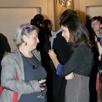 Viviana Gravano (Ied) ed Elena Pagnotta (Inside Art). Foto di Adriana Abbrescia