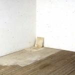Lawrence Carroll Untitled, 1990 olio, cera e tela su legno /oil, wax, canvas on wood 91,5 x 147,3 x 30,5 cm Collezione dell'artista / Collection of the artist Photo credit: Carroll Studio