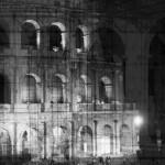 My own Rave. Roma (Colosseo ingabbiato), 2014, esposizioni multiple in fase di ripresa, non digitali