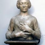 Busto di gentildonna di Verrocchio