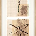 PIETRO RUFFO The Israeli Spring, 2015 Ritagli su carta, 71x31.5 cm