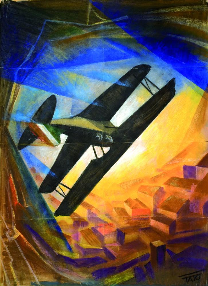 Tato, Rovesciata, 1928