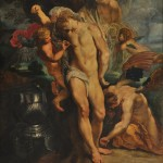 01 - Peter Paul Rubens, San Sebastiano curato dagli angeli, 1602-04, Roma, Palazzo Corsini copy