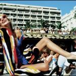 8. Jerry Hall and Helmut Newton 1973 -® David Bailey (1)