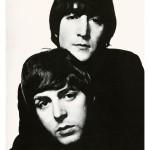9. John Lennon and Paul McCartney 1965 -® David Bailey (1)