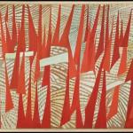 Giulio Turcato, Comizio, (1950). Galleria d'Arte Moderna © Roma Capitale