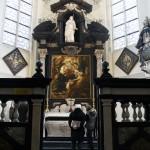La tomba di Rubens nella cattedrale di St Jacob