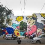 """LADY AIKO _ """"Rani Lakshmi Bai"""" _ Lodhi Colony _ Pic by Akshat Nauriyal"""