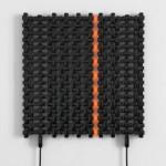 SHAY FRISCH campo 306_N, 2012  Componenti elettrici, 67.5x69 cm