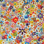 Takashi Murakami, Flower (Superflat) (2004)