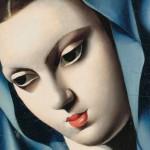 Tamara de Lempicka, La vierge bleue