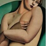 Tamara de Lempicka, Nu adossé