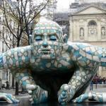 Rabarama, scultura