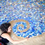 Micaela Lattanzio, Sandcloud, foto Luca Carlino