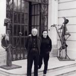 David Douglas Duncan, Picasso e la moglie Jacqueline Roque, Francia, seconda metà degli anni '50