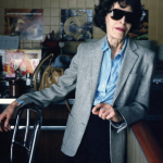 Blind woman at Woolworth's counter, Binghamton, NY, 1987 © Bruce Wrighton / Courtesy Les Douches La Galerie, Paris / Laurence Miller Gallery, New York