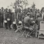Momento di esame nel campo di prigionia di Cuccana 15 18