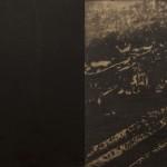 Omar Galliani_Tutte le notti di Santa Lucia_1999_dittico_matita su tavola_cm 200x400
