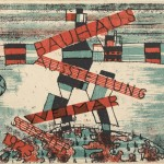 "Ludwig Hirschfeld-Mack, 1923, Karte 15. 1923. Lithograph, 3 15/16 x 5 7/8 "" (10 × 15 cm)."