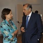 Federica Pirani con Emmanuele Emanuele
