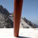 Illusione di Alberto Timossi, Cave Michelangelo, Carrara - foto Stefano Esposito