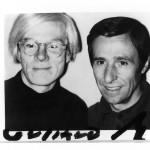 1974, Andy Warhol e Giuliano Gori