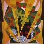 Giacomo Balla, Estate, circa 1918, olio su tela