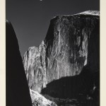 ©Ansel Adams_Moon and Half Dome Yosemite National Park 1960