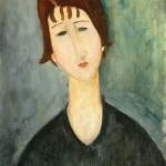 Amedeo Modigliani - Ritratto Femminile