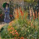 Claude Monet - Gladioli